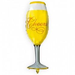 Balon foliowy kieliszek Cheers!