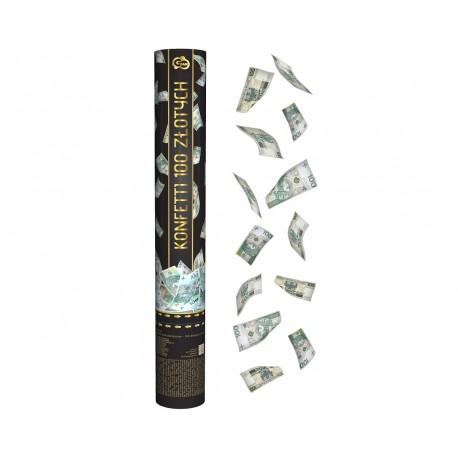 Konfetti banknoty 100 ZŁOTYCH
