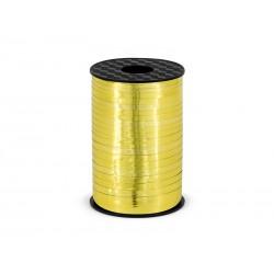 Wstążka plastikowa złota 225m
