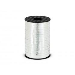 Wstążka plastikowa srebrna 225m
