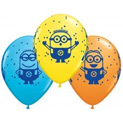 Balony 11 cali MINIONKI