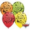 Balon 11 cali CARS AUTA Lightning McQueen & Mater