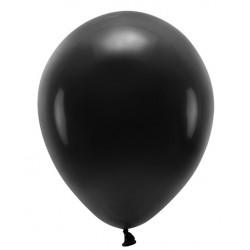 "Balon gumowy 14"" czarny, 1szt"