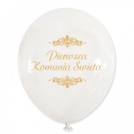 Balon Pierwsza Komunia Święta 30cm