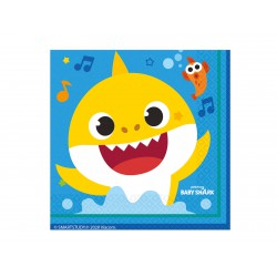 Serwetki Baby Shark 33x33 cm 16 szt