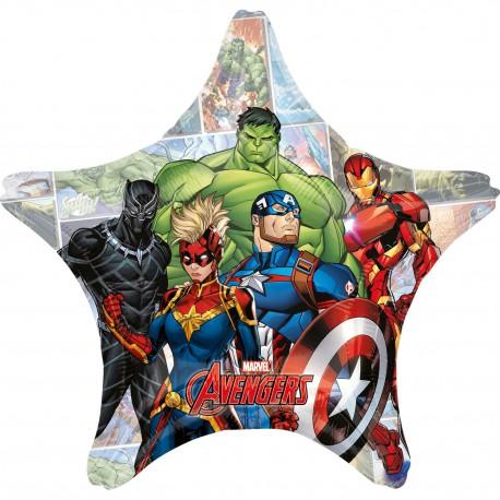 Balon foliowy Gwiazda Jumbo Avengers 71cm