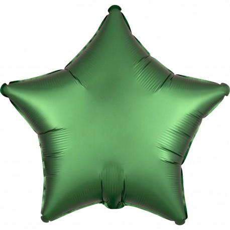 Balon foliowy Gwiazdka 48cm zielony