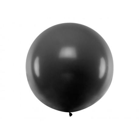 Balon metrowy, 1m, czarny