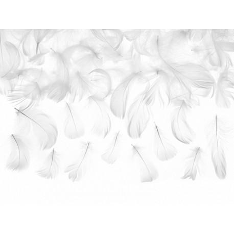 Piórka dekoracyjne, jasnoróżowy, 3g
