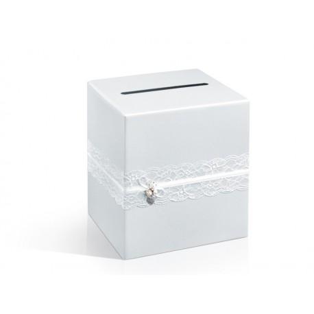 Pudełko na telegramy White