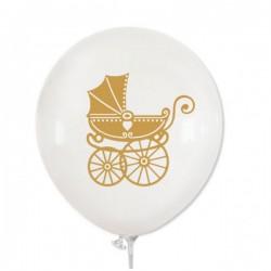 Balon gumowy 14'' biały...