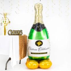 Butelka szampana Duży...