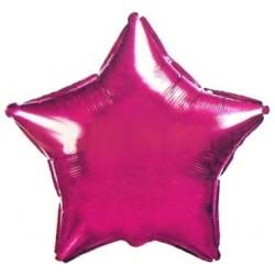 """Balon foliowy 18"""" """"Gwiazda purpurowa"""""""