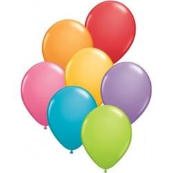 """Balony gumowe 27cm 12"""" mix kolorów, 10 szt."""