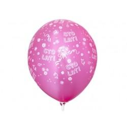 """Balon  gumowy 14"""" Sto Lat, 1 szt."""