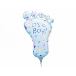 Balon Stópka Chłopczyk, 42x21cm