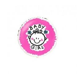 "Balon foliowy 18"", ""Baby girl"""