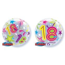 """Balon foliowy 22"""" na 18 urodziny, 56cm"""