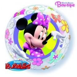 Balon Bubbles Myszka Minnie