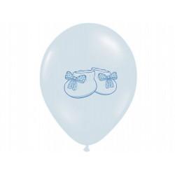 """Balon gumowy 14"""" Buciki błękitne 1szt."""