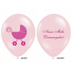 """Balon gumowy 14"""" Nasza Mała Dziewczynka, 1szt."""