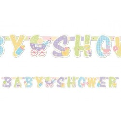 Baner Girlanda BABY SHOWER, 210cm