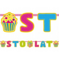Baner STO LAT, cupcakes