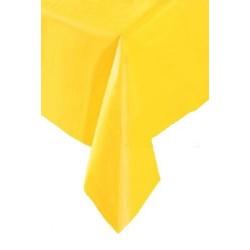 Obrus foliowy żółty