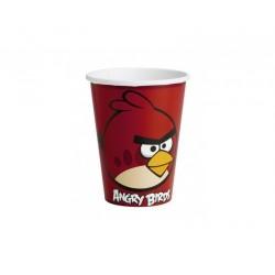 """Kubeczki papierowe , """"Angry Birds"""", 8szt."""
