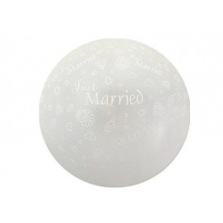 "Balon kula ""Just Married"""