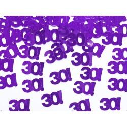 Konfetti metalizowane, liczba 30