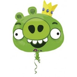 balon foliowy Green Pig 24''