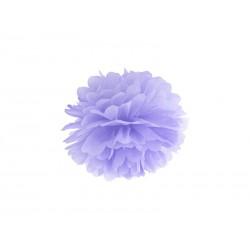 Pompon papierowy j.liliowy, 25cm