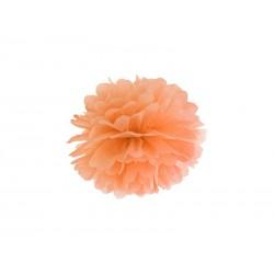 Pompon papierowy j.pomarańcz, 25cm