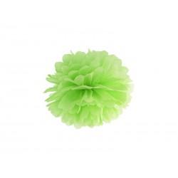 Pompon papierowy j.zielony, 25cm