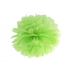 Pompon papierowy j.zielony, 35cm