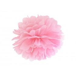 Pompon papierowy j.różowy,...