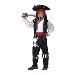 Strój Pirat Kapitan r.120/130