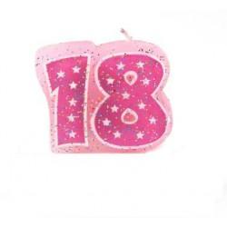 """Świeczka piker na """"18"""""""