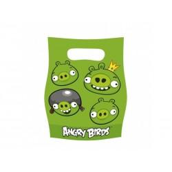 Torebki Angry Birds, 6szt