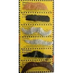 sztuczne wąsy- zestaw- GD