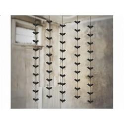 Dekoracja sufitowa Czarne Nietoperze