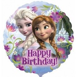 Balon foliowy KRAINA LODU Happy Birthday