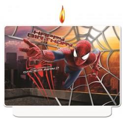 """Świeczka """"Amazing Spiderman2"""", 1szt"""