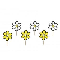 Karteczki na piku Kwiatek, 6szt