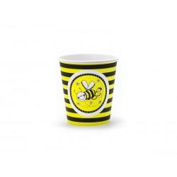 Kubeczki papierowe Pszczółka, 6szt