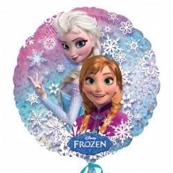 """Balon foliowy 18"""" """"Kraina Lodu"""" /Anna, Elsa/"""