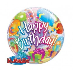 """Balon foliowy 22"""" Happy Birthday, balony i prezenty"""