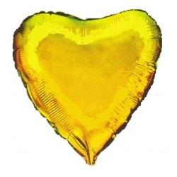 """Balon foliowy 18"""", Serce złoty"""