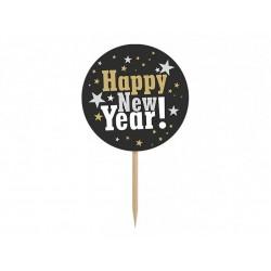 Pikery Happy New Year, 6szt